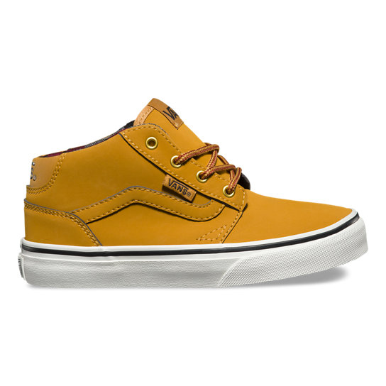 Kids Waxed Chapman Mid Shoes | Vans