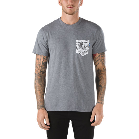 Camiseta Printed Pocket | Vans