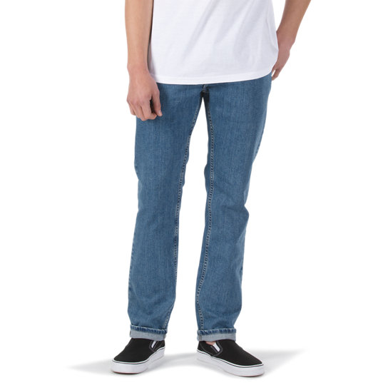 V16 Stone Wash Slim Jeans