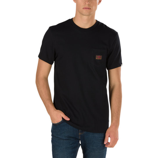 Gilbert Crockett T-Shirt mit Brusttasche | Vans