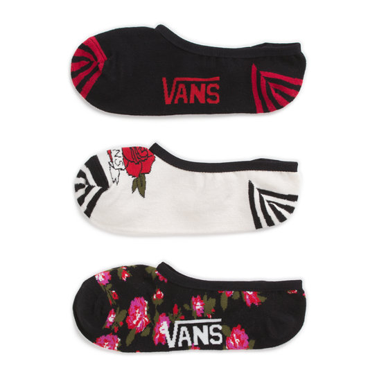 Chausettes Flo-Ral Rider (3 pair pk) | Vans