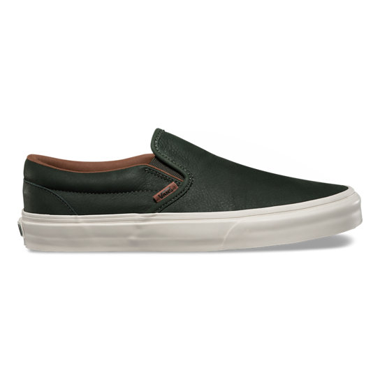 Chaussures Premium Leather Slip-On | Vans