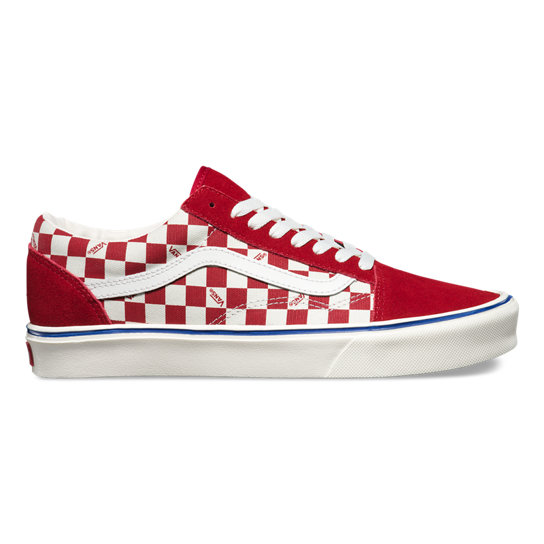 Seeing Checkers Old Skool Lite Shoes | Vans