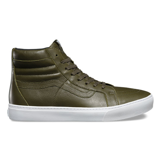 Leather Sk8-Hi Cup Shoes | Vans