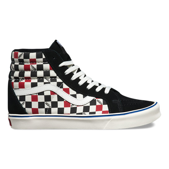 Seeing Checkers Sk8-Hi Lite Shoes | Vans
