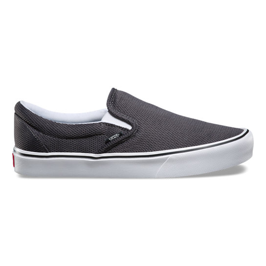 chaussures mesh slip on lite gris vans. Black Bedroom Furniture Sets. Home Design Ideas
