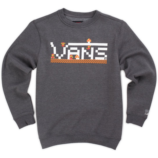 Sweat Junior Mario Crew Nintendo | Vans