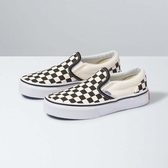 Checkerboard Classic Slip-On Kinderschoenen | Vans