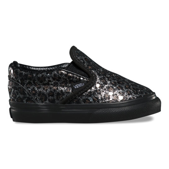 Toddler Metallic Leopard Classic Slip-On Shoes | Vans