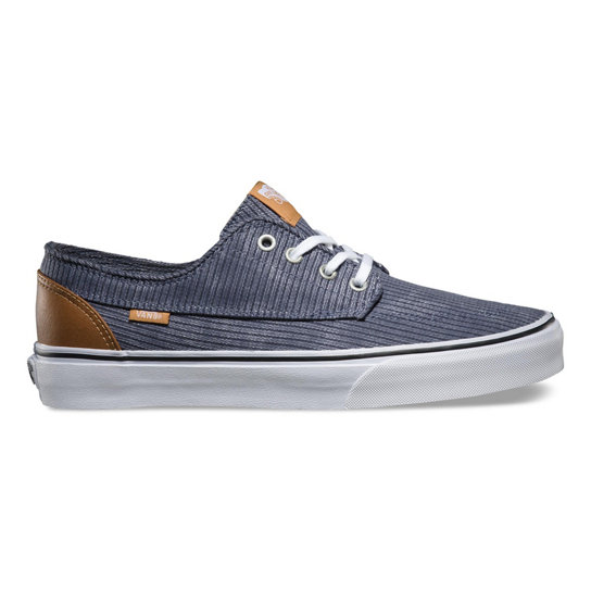 Washed Herringbone Brigata Shoes | Vans