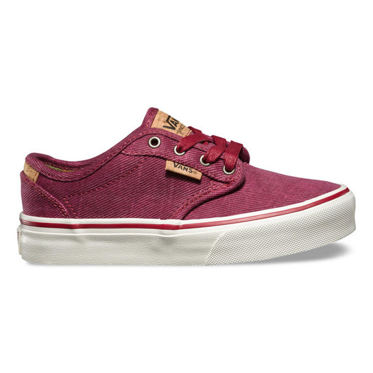 Kids Washed Twill Atwood Deluxe Shoes | Vans